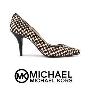 New Michael Kors Houndstooth Heels